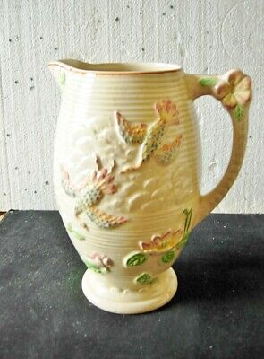 Art Deco Price Brothers Majolica  Jug  Made In England  • 15£