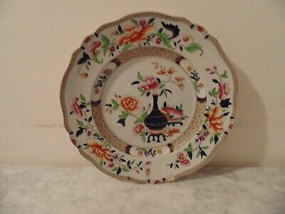 Victorian Imperial Stone China Plate. • 2.99£