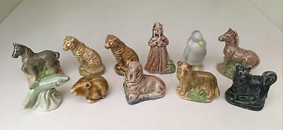 CollEction Of WADE WHIMSIES - Tiger/Zebra/Penguin/Salmon/Horse/Dogs/Guinea/Piper • 9.50£