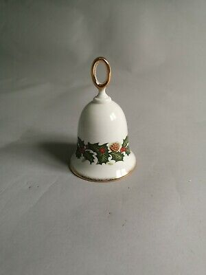 Rosina China Co Queens Christmas Bell • 0.99£