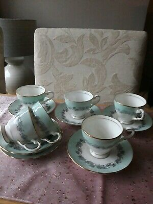 6 Tuscan Vintage Coffee Cups And Saucers  • 10£