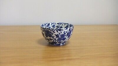 Nice Attractive Arden Burleigh Staffordshire Small Bowl Blue & White • 5£