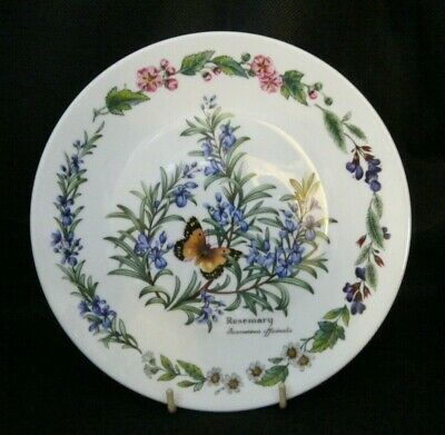 ROSEMARY -  ROYAL WORCESTER - HERBS Of The GARDEN COLLECTORS PLATE   • 2.49£