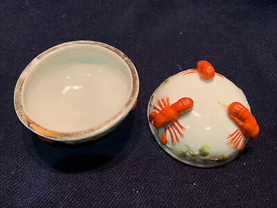 Lobster Butter Dish Antique Ceramic Whiteley Victorian Escape To The Chateau • 10£