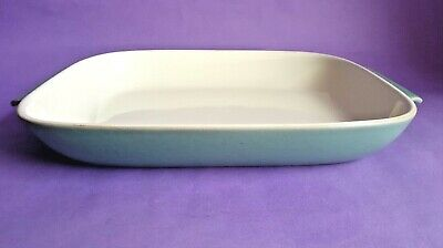 Vintage Denby 'Manor Green' Gratin / Serving Dish, Designed By Donald Gilbert • 5.99£