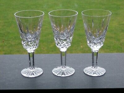 3 X Tyrone Crystal ROSSES Liqueur Glasses - Ex Cond • 12.99£