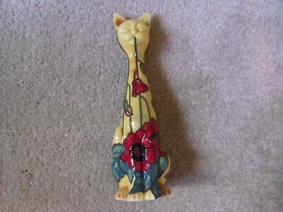 Old Tupton Ware Yellow Poppy Tall Cat Ornament- TW1396 • 8.90£