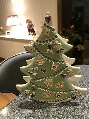 Villeroy Boch Christmas Tree Excellent Condition Candle Holder • 14.50£