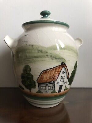 Vintage Bovey Dartmoor Ware Pottery Ginger Jar Ex Condition • 5.99£