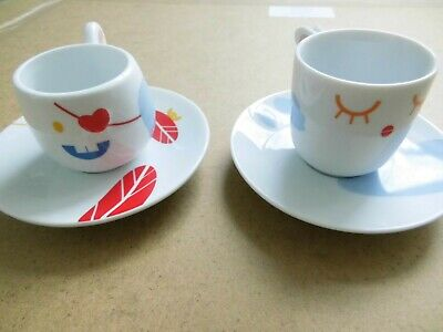 Thomas Rossenthal Group Pepe And Friends Espresso Cups And Saucers • 39.99£