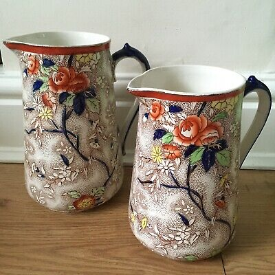 Corona Ware S. Hancock And Sons, Rosetta Jugs,Pitchers, Vintage, Chintz, Floral • 12.99£