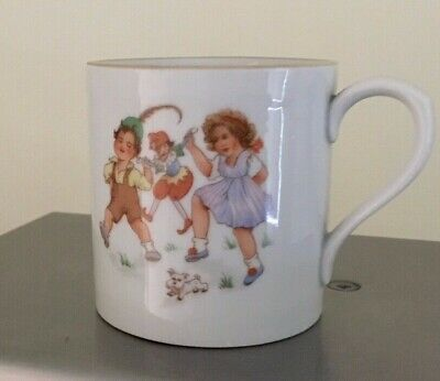 """Vinage Childs Nursery Cup  """"A Present From London """"  Free UK Postage  • 8.99£"""