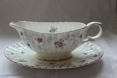 Royal Stafford  Enchantment  Gravy Boat And Stand • 25£