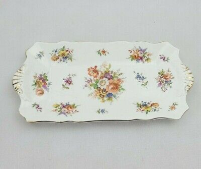 Hammersley Howard Sprays 30cm Bone China Floral Sandwich Tray - Vintage VGC • 24£