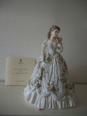 Royal Worcester Queen Of Heart Come With Box And Certificate • 129.99£