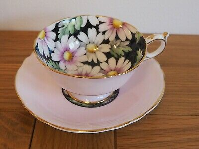 Paragon Pink Pastel Cup And Saucer • 69.99£