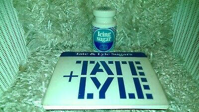 Vintage Tate & Lyle Sugars Shop Counter Mat Icing Sugar Shaker Lord Nelson Ware • 15.99£