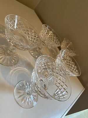 Waterford Crystal Set Of 5 Sundae Dishes • 25£