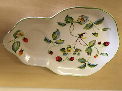 James Kent 'Old Foley' STRAWBERRY Saucer + Cup Space Combination Plate • 2.50£