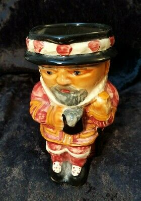 Beefeater Small 5  Toby Character Jug - Shorter & Son - Staffordshire England  • 9.95£