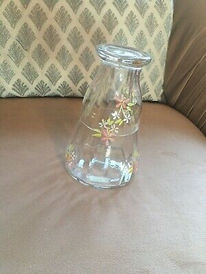 Laura Ashley Glass Carafe And Glass • 10£