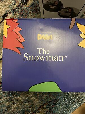 """Coalport/Doulton Snowman """"BY THE FIRESIDE"""" Ltd Edition BNIB & With A Certificate • 75£"""