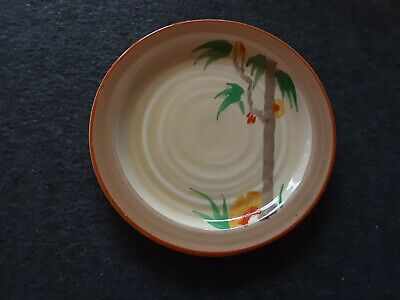 Clarice Cliff Side Plate ' Palm' 1936. • 30£
