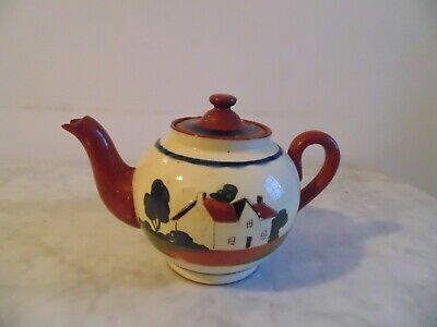 Rare Watcombe Devon Motto Ware Tea Pot. • 19.99£