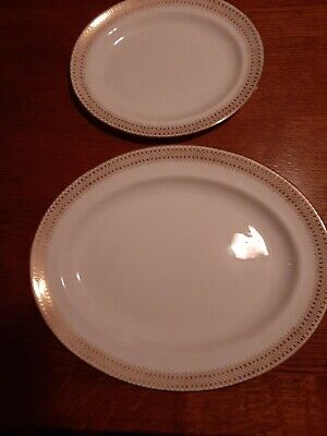 Two Oval Serving Plates By George Jones • 15£