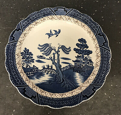 """Booths """"Real Old Willow"""" A8025 Serving Plate 25cm  • 5£"""