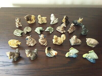 A Collection Of Original Wade Whimsies From 1970s And 1980s - 24 In Total • 15£