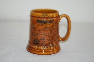 Vintage Lord Nelson Pottery England Tankard Bramhall • 3.50£