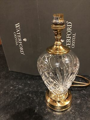 Waterford Crystal Table Lamp (new) • 100£