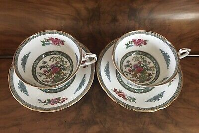 Two Vintage Paragon Fine Bone China Tree Of Kashmir Cups And Saucers • 14.99£