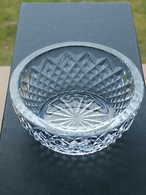 Lovely Quality Cut Crystal Bowl - Ex Cond • 4.99£