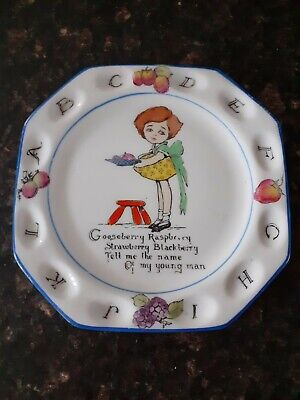 Paragon Fine Bone China The Childs Future Telling Series Plate • 60£