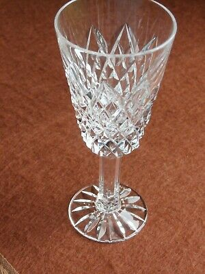 Tyrone Crystal SPERRINS Sherry / Wine Glass -Stamped - Ex Cond • 5.99£