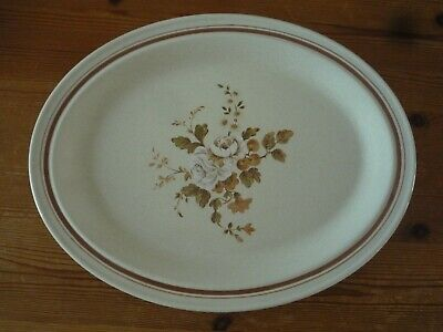Royal Doulton, Lambethware – Ravel - Oval Platters/Steak/Dinner Plates X4 LS1037 • 8£