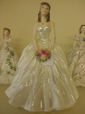 Royal Worcester Figurine - Royal Anniversary Figure Of The Year 1998 • 55£