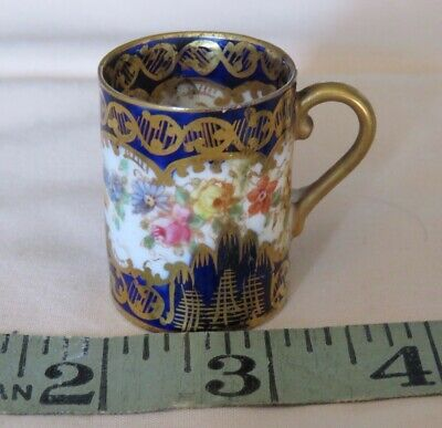 Vintage/antique Crown Staffs Miniature Mug Repaired At Some Time • 4.99£