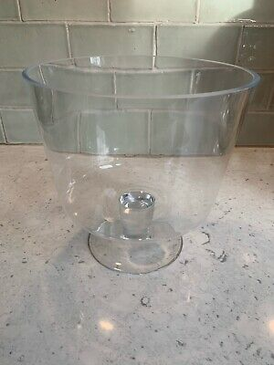 LINEA Home Pave Footed Trifle Bowl 20 X 21cm - Used But Good Condition • 3.11£