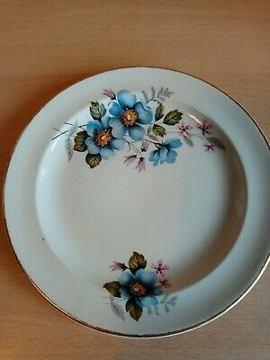 James Kent Old Foley Blue Floral Side Plate 6.5 Inches • 14.99£
