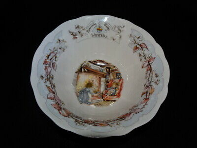 Royal Doulton Brambly Hedge Winter Footed Bowl • 45£
