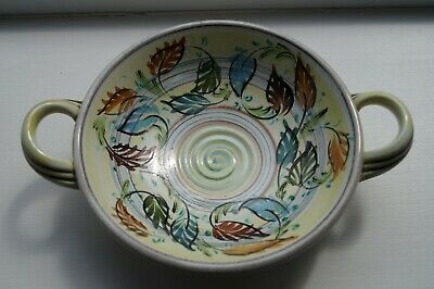 Bourne Denby Danesby Ware Floral Stoneware Bowl By Glyn Colledge, Excellent • 15£
