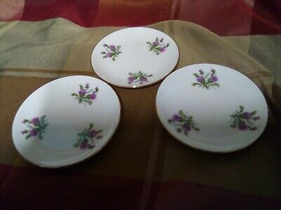 3 X ROYAL VALE ENGLAND PIN DISHES • 3.50£