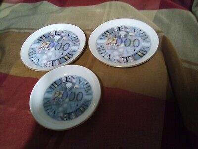 ROYAL VALE ENGLISH CHINA MILLENNIUM Pin Dishes (3) • 3.50£