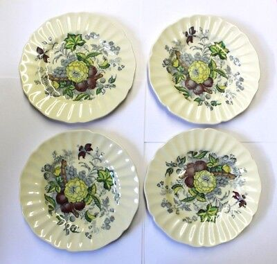 Royal Doulton The Kirkwood Pattern Bread And Butter Plates Set Of 4 • 14.26£