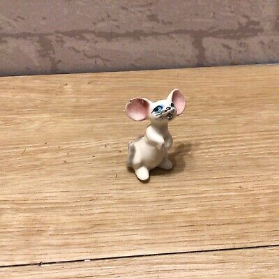 Figurine Of A Vintage Mouse For Brandy Glass • 5£