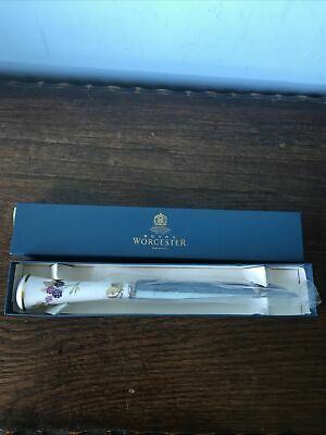 Royal Worcester Cheese  Knife Boxed • 10£