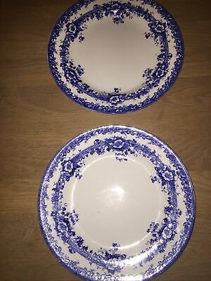 Blue And White Plates • 4£